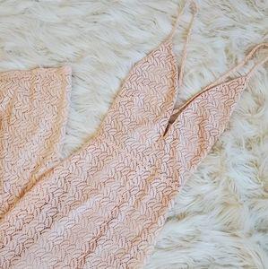 NEW - Pink Beachy Shell Maxi Dress